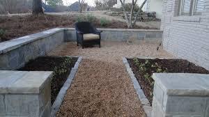 Pea Gravel And Epoxy Patio by Fun Pea Gravel Patio Decomposed Granite Patio Youtube For Pea