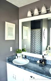 framing bathroom mirror with molding how to frame bathroom mirror with molding mirror with crown