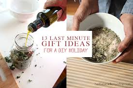 last minute gift ideas to make at home