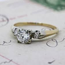 1940s engagement rings 1940s engagement ring mid century ring from ferguson s
