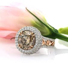 Chocolate Diamond Wedding Rings by Fancy Color Engagement Rings U2013 Simply Sweet Chocolate Diamonds