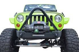 jeep bumper jeep jk ace jk pro series front bumper stinger with 10