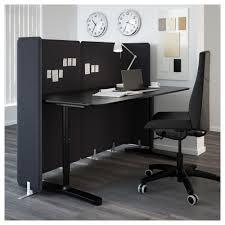separateur de bureau bekant séparateur bureau gris 120 cm ikea