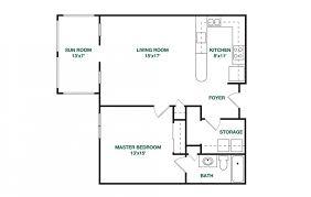 1 Bedroom 1 1 2 Bath House Plans Our Residences Retirement Chapel Hill Carolina Meadows
