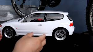 kereta honda civic honda civic si eg rc remote control car youtube