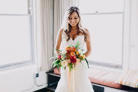 ibex wedding dresses colorful rainy day wedding at millwick aylin joshua green