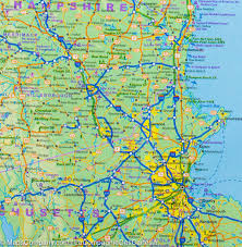 Boston Usa Map by City Map Of Boston U0026 Map Of North Eastern Usa Itm U2013 Mapscompany