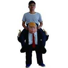 Donald Trump Halloween Costume Aliexpress Com Buy Funny Donald Trump Rider Costume 2017 Newest