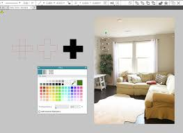 tips for using silhouette studio for home decorating mock ups
