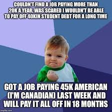 Finding A Job Meme - been struggling with not finding a job with my degree imgflip