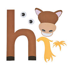 free alphabet letter h printable crafts for kids learning at
