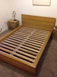 ikea u0027bergen u0027 double bed and headboard in peebles scottish