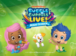 bubble guppies live ready rock tickets event dates