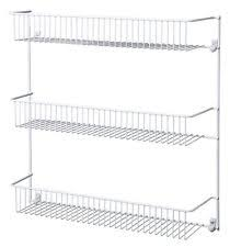 Wall Mount Spice Racks For Kitchen Fasthomegoods 22 Long Wall Mount Spice Rack Jar Storage Wood Shelf
