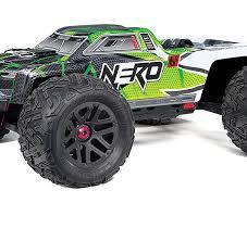 arrma nero 6s 4wd blx monster truck rtr green