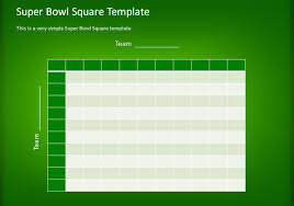 how to make a simple football squares template using powerpoint
