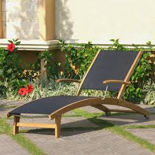 Smith And Hawken Chaise Lounge by Teak Chaise Lounge Chairs Patio Seating Ideas