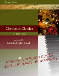 christmas classics piano solo book marshall mcdonald