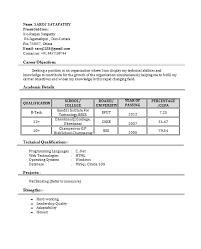 Resume Sample For Fresher Teacher by Resume Sample For Hindi Teacher Templates