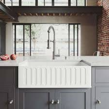 farm apron sinks kitchens acrylic farmhouse apron kitchen sinks kitchen sinks the home