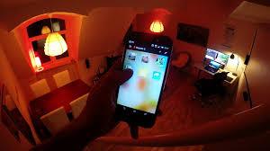 Living Room Lights philips hue color lights light strip living room test youtube