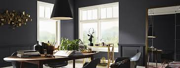 sherwin williams duration home interior paint matte black is the new black