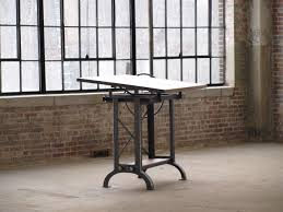 Wall Mounted Drafting Table by Furniture Brown Wooden Antique Drafting Table Hardware Iron Steel