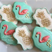 pineapple flamingo cookies plaetzchen süß und backen