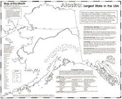 Labeled Map Of Usa by Alaska U0027s Yukon River Maps For The Classroom