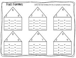 math fact families multiplication division fact families worksheet pack multiplication division by o h so
