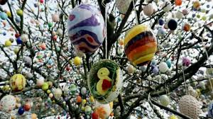 german easter egg tree wonderful easter customs german easter tree