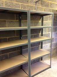 5 tier extra heavy duty boltless shelving unit