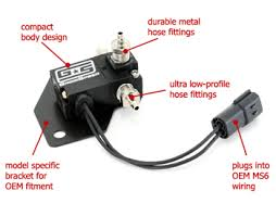 electronic boost control solenoid 3 port mazdaspeed 3 grimmspeed