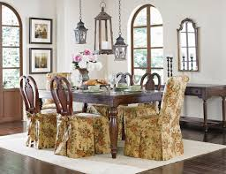 how to make dining room chairs sure fit slipcovers super easy way to pretty up those dining