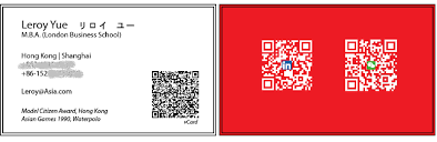Create Qr Code For Business Card Mobile Enable Your Business Card Leroy Yue Pulse Linkedin