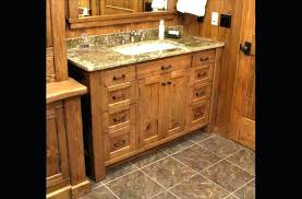 knotty pine bathroom cabinet vanity with lots of drawers hp knotty