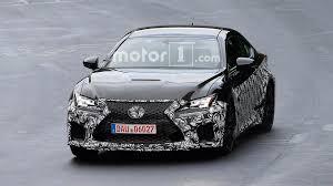 lexus rcf sedan lexus spied prepping updated rc f possible engine update