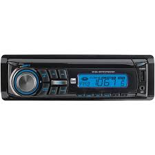 dual electronics xd250 detachable lcd single din car stereo with
