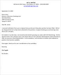 sample employment rejection letter 7 examples in word pdf