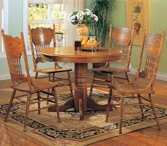Oak Dining Room Oak Dining Room Set
