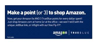Shop At Home by Earn Jetblue Points Shopping At Amazon U2014 Points To Neverland