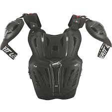 motocross protection gear leatt 4 5 pro chest protector roost deflectors protection