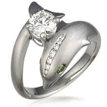 dolphin engagement ring engagement ring