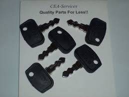 5 keys fit kubota rtv utv utility vehicles b bx f gr zd rtv500