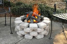 Diy Backyard Fire Pit Ideas Diy Outdoor Propane Fire Pit Ideas Home Furniture