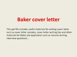 Sample Resume For Baker by Bakercoverletter 140227225910 Phpapp02 Thumbnail 4 Jpg Cb U003d1393541979