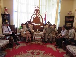 bureau de la directrice nouvelle mission au laos de la directrice du bureau asie pacifique