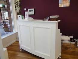 Flat Pack Reception Desk Reception Desk Cash Desk Salon And Retail French Style Shabby