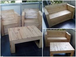 1001 Pallet by Pallet Chairs U0026 Coffee Table Wooden Pallets Pallets And Repurposed