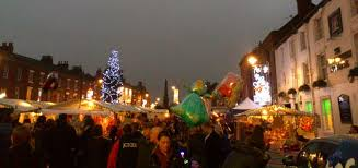 selby christmas lights switch on and christmas market event
